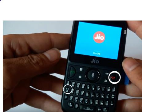 Jiophone F300B recovery mode fix