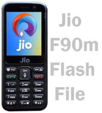 Jio Keypad Phone Firmware Download