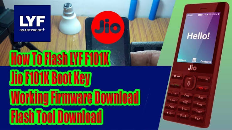 Photo of Jiophone F101K Firmware (Flash File 2019-20) Edition Free Download