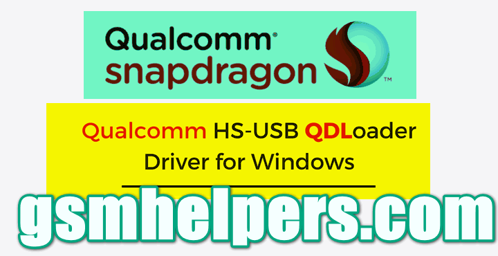 Download Android Qualcomm USB Driver