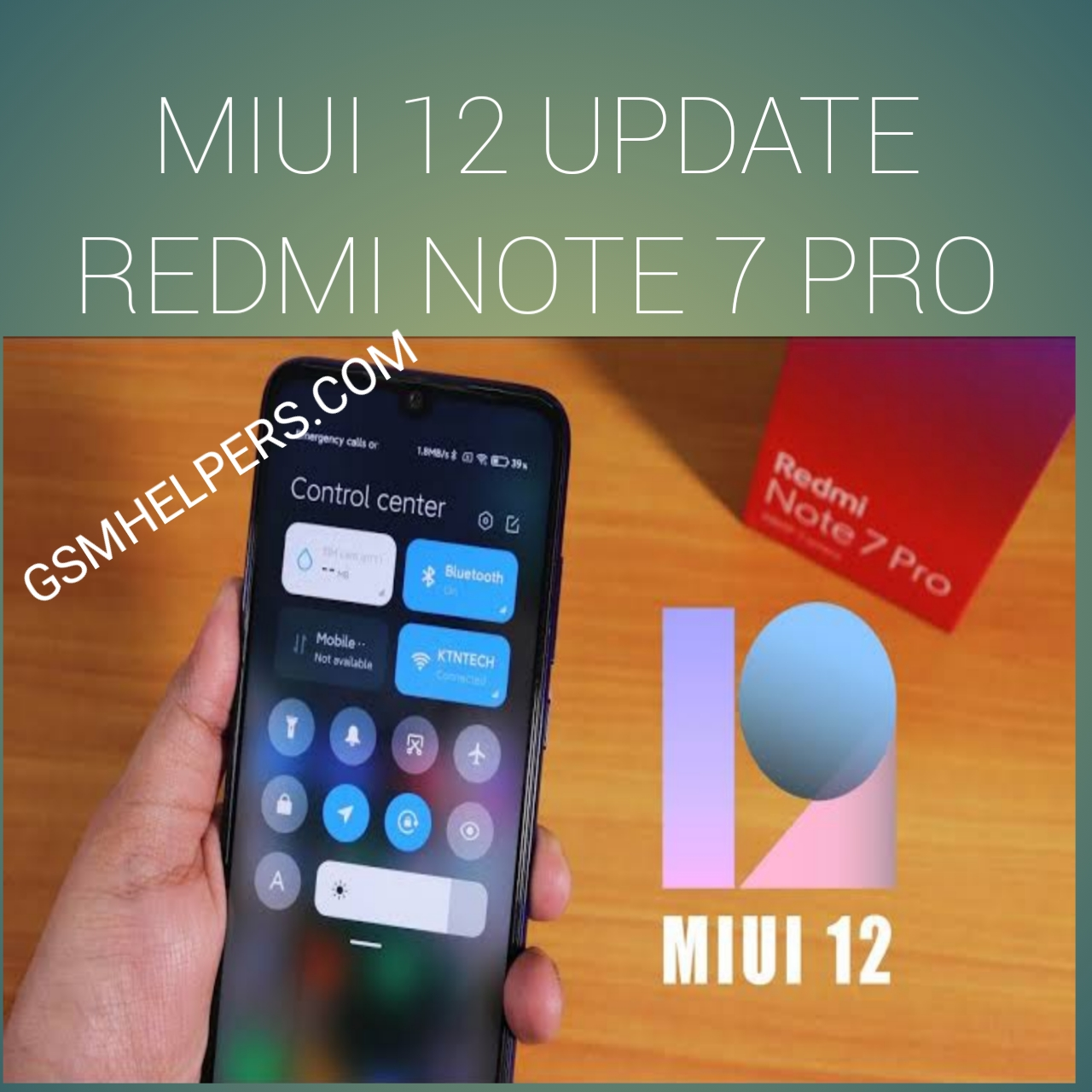 Redmi Note 7 Pro MIUI 12 Stable Recovery Update Download (only india)