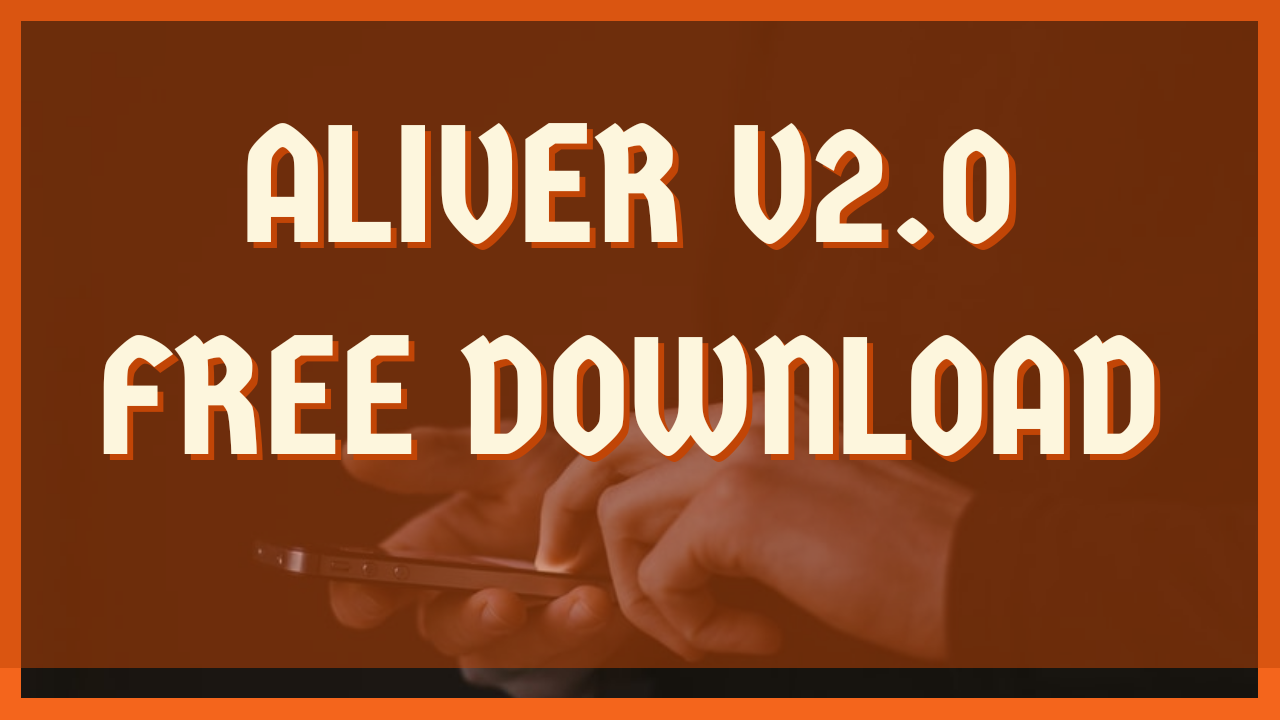 Aliver V2.0 Update Free Download (Write Factory Firmware) by great gautam
