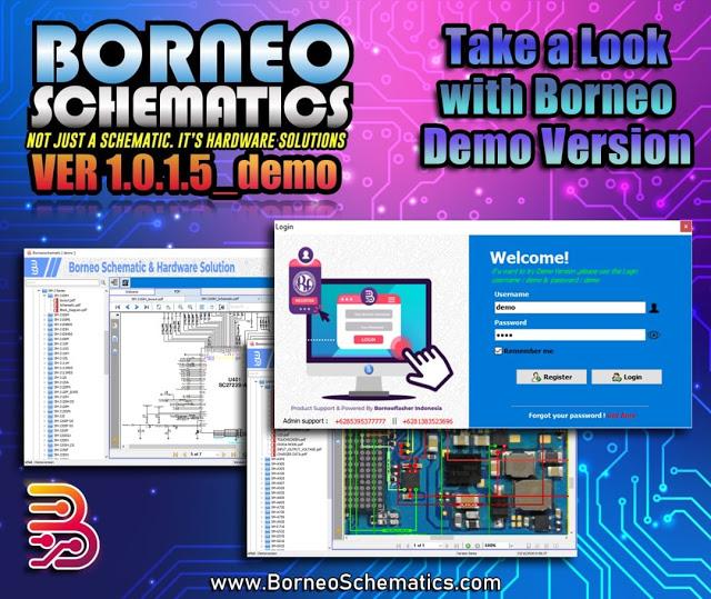 Borneo Schematics, Samsung, Xiaomi, Oppo, Free Download – DEMO