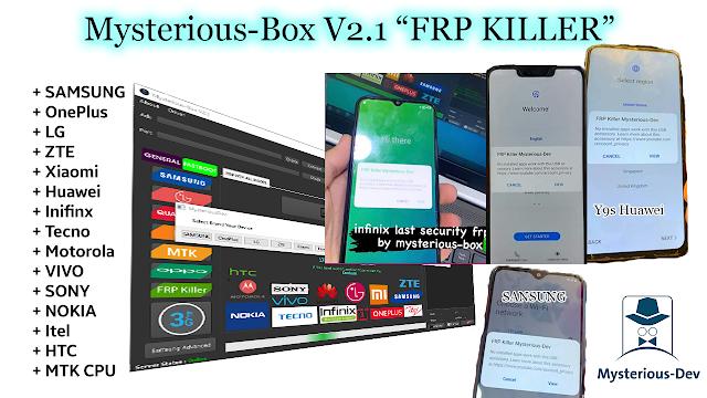 Mysterious-Box V2.1   Update Setup Download   FRP Killer   Unlocking