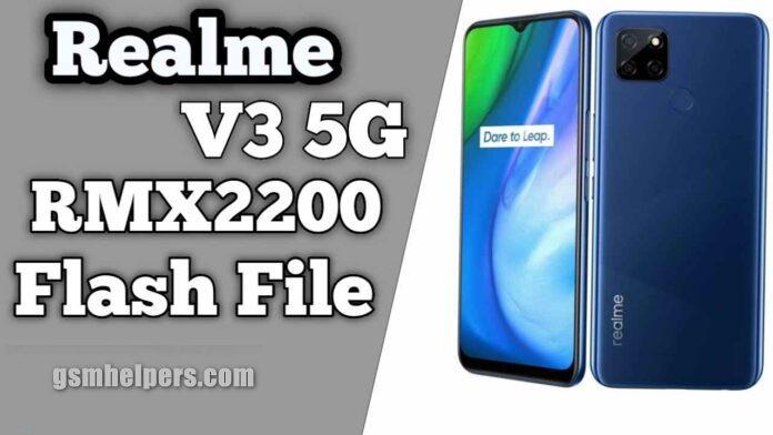 Realme V3 5G RMX2200 Flash File Stock ROM Free Download