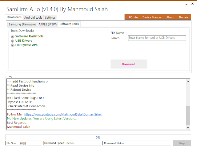 SamFirm Tool V 1.4.0 A.I.O Final Update