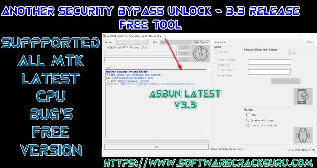 ASBUN - (Another Security Bypass Unlock)
