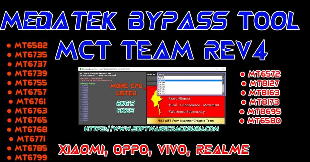 MCT MediaTek Bypass Tool