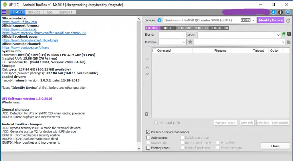 UFI Software