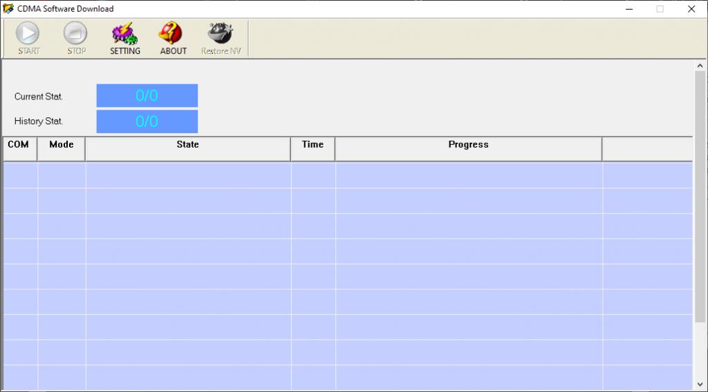 CDMA software download
