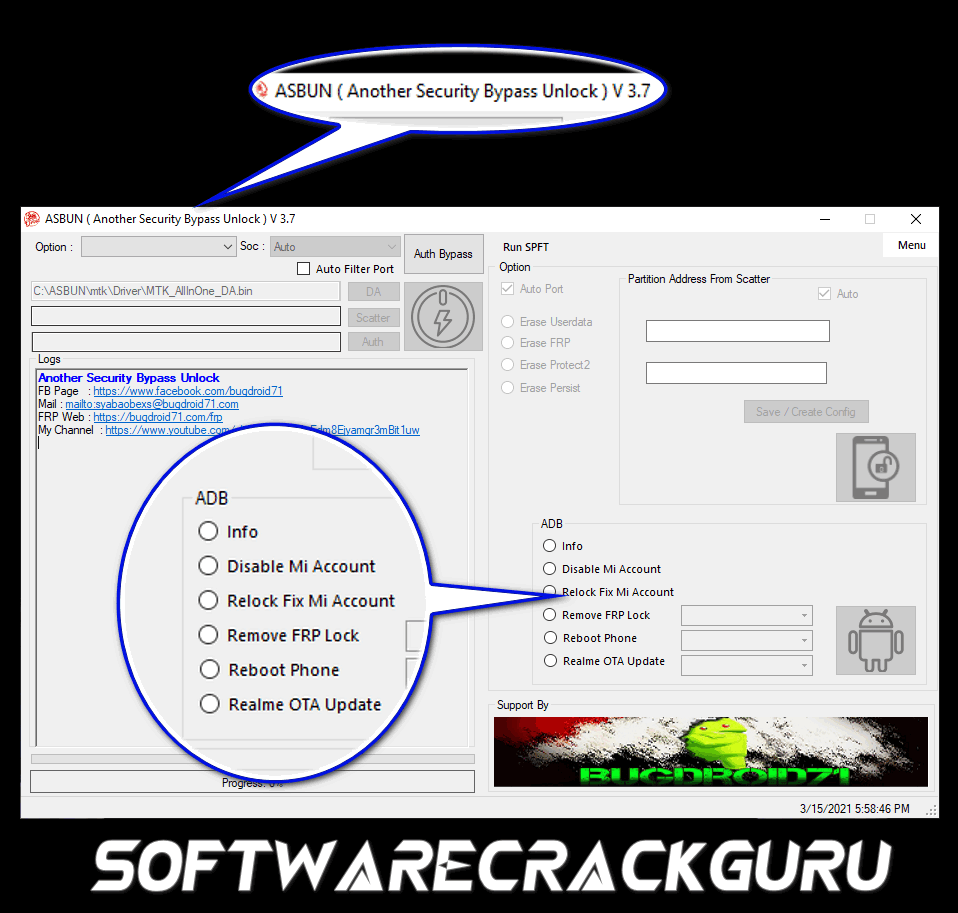 Another Security Bypass Unlock