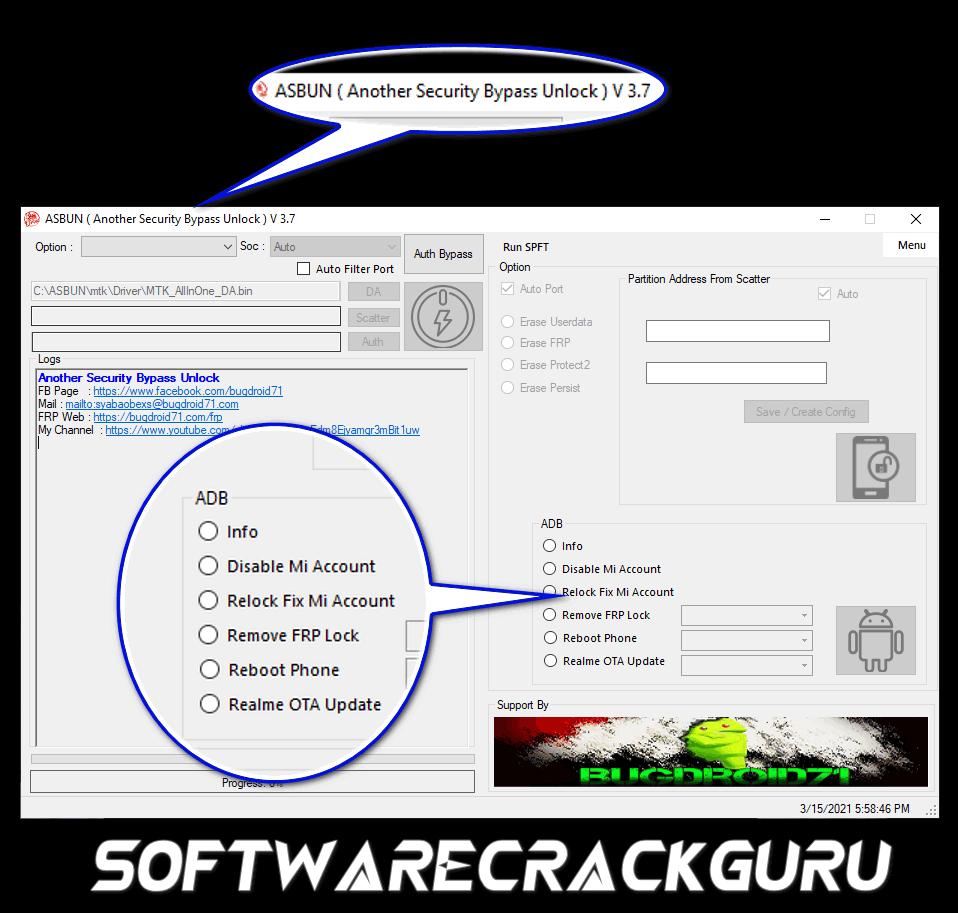 ASBUN (Another Security Bypass Unlock) Tool 3.7 Free Download