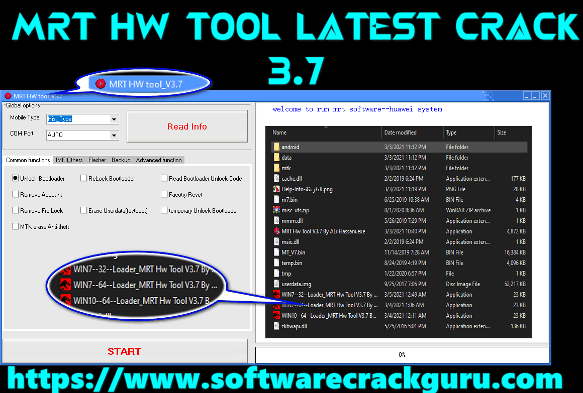 MRT HW TOOL V 3.7 Latest Crack – Windows 7, and Windows 10