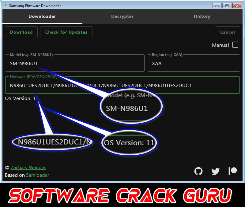 Samsung Firmware Downloader v0.3.1 Open-Source Tool No Activation Required Free Download