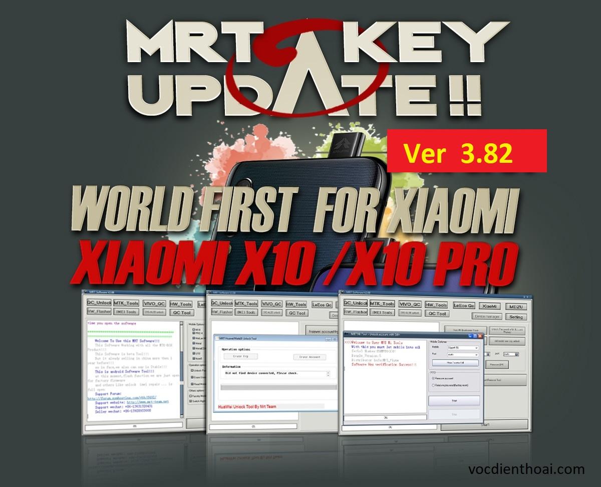 MRT Dongle V3.82 Free Download | Added Xiaomi X10 / X10 Pro
