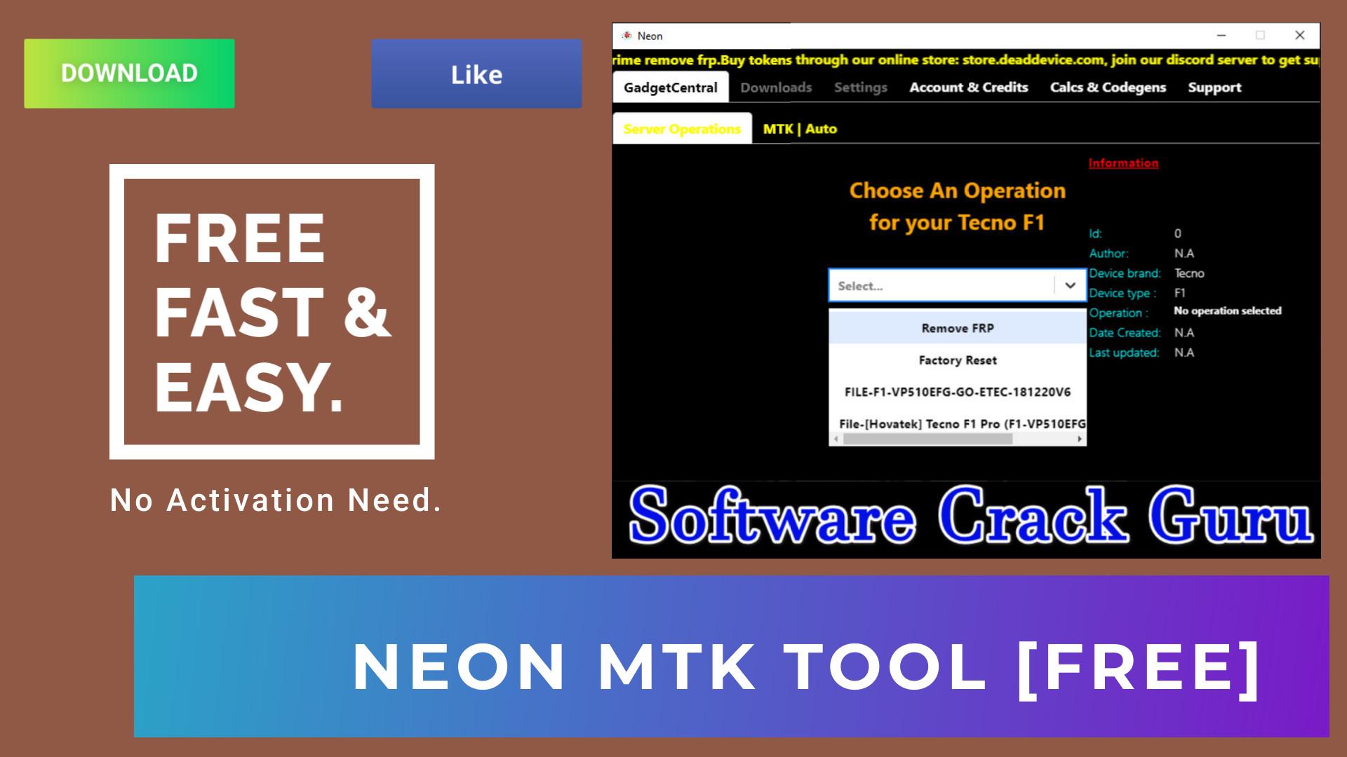 Neon Installer 1.5.7 Free Download | Best Tool For Unlocking MTK Phones!!!