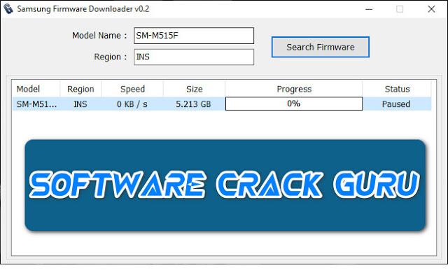 Samsung Firmware Downloader