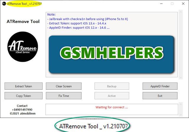 ATRemoveTool – AppleID Finder   GET iCloud Information & Phone Number Free  – 2021