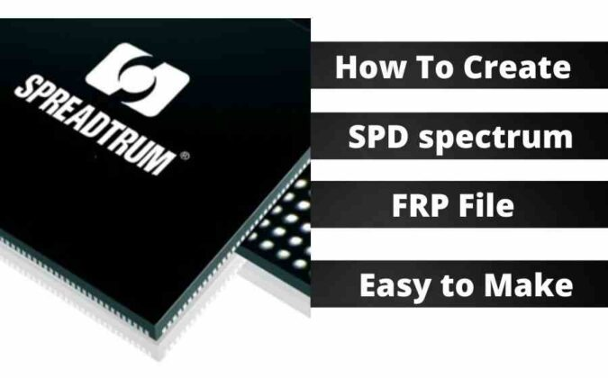 How To Create SPD spectrum FRP File Easy to Make – 2021