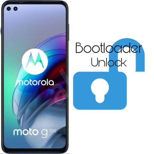 How to unlock bootloader on Motorola G100 FREE