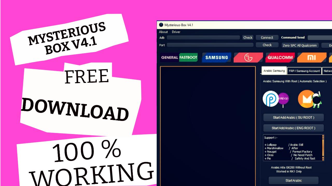 Mysterious-Box V4.1 | Remove Mi Account Xiaomi | Free Tool |
