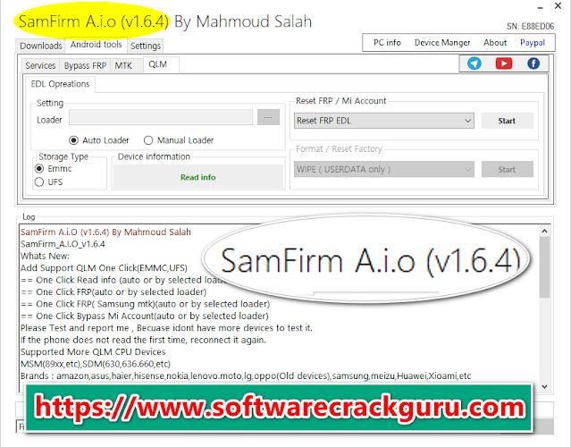 SamFirm Tool V1.6.4 Free Download