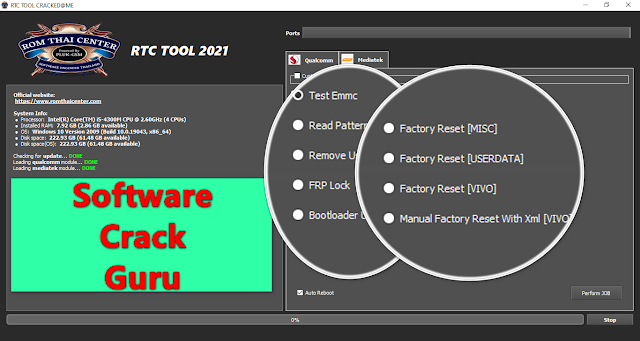RTC (ROM Thai Center) Tool Crack 2021 Free For All Users