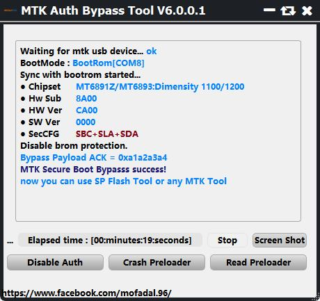 MTK Secure Boot Disable Tool V6 Free Download